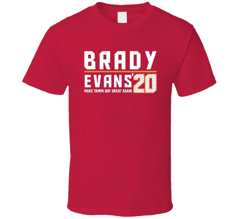 Brady Evans 2020 Tampa Bay Football Fan T Shirt