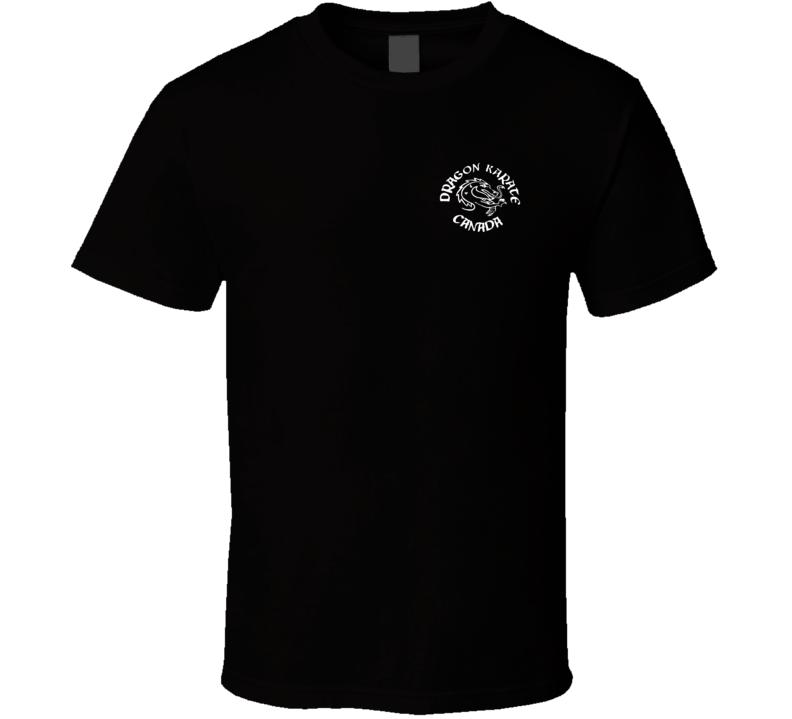 Dragon Karate Canada Chest Logo T Shirt