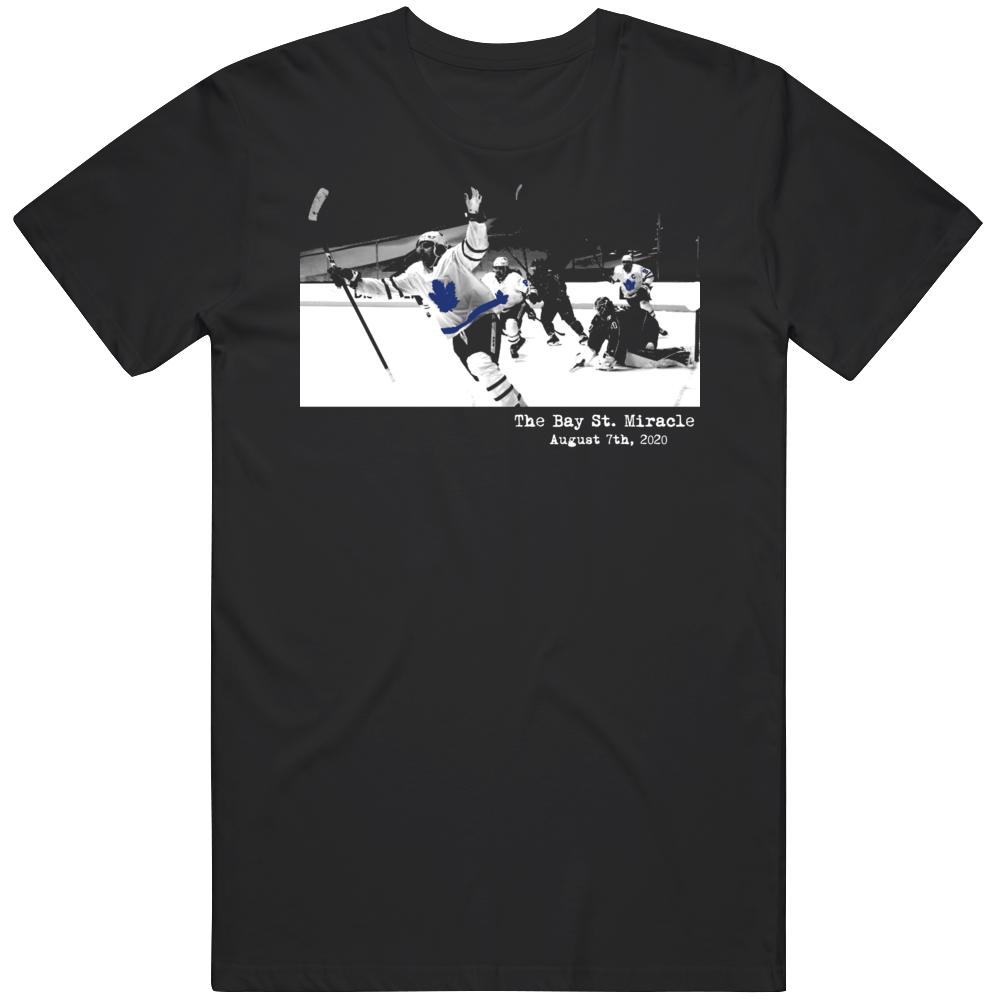 The  Bay St Miracle  Toronto Hockey Fan v3 T Shirt