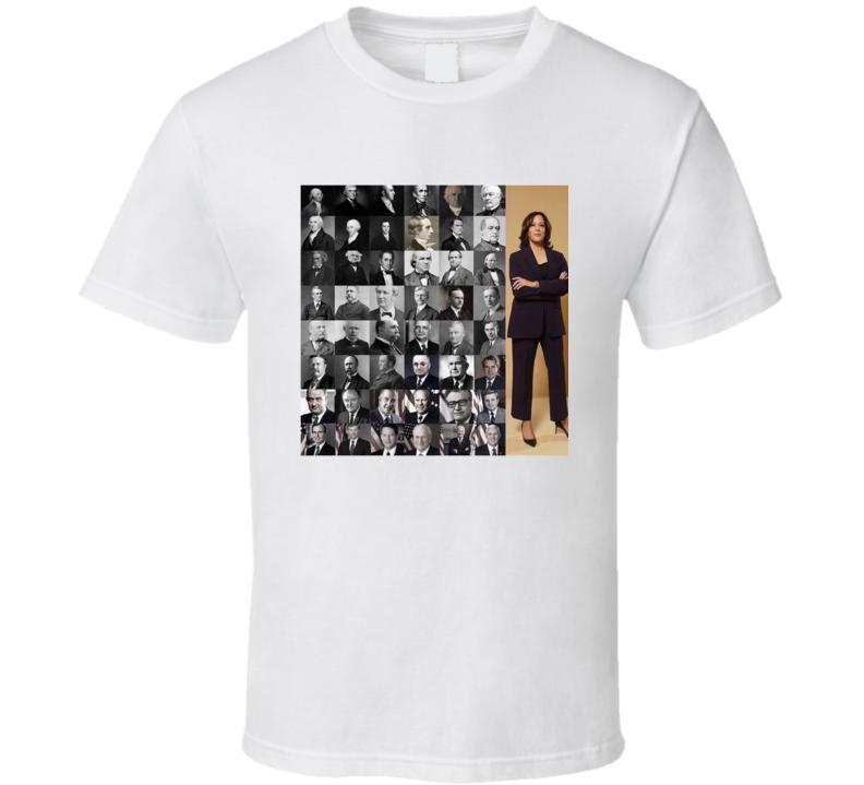 Kamala Harris First Women Black Vice President T Shirt