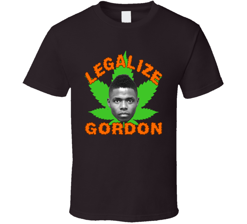 Brown Legalize Josh Gordon Cleveland Football T Shirt