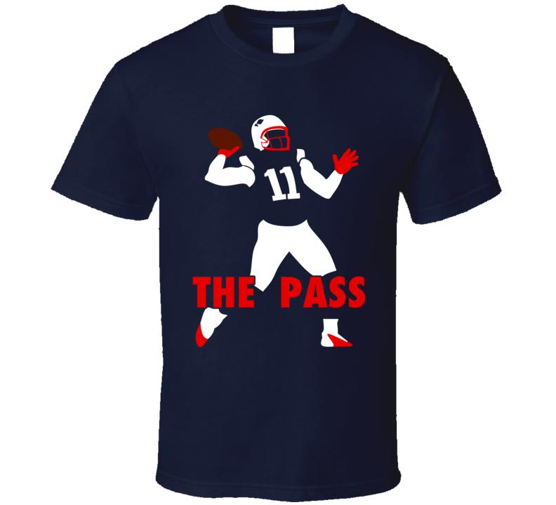 Julian Edelman The Pass Touchdown Pass Danny New England Football T Shirt