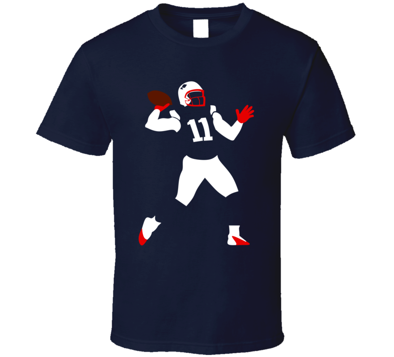 Julian Edelman The Pass Touchdown Pass To Danny A New England Football T Shirt