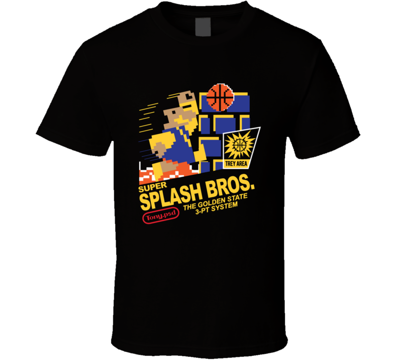 Super Splash Bros Golden State Klay Thompson Stephen Curry T Shirt