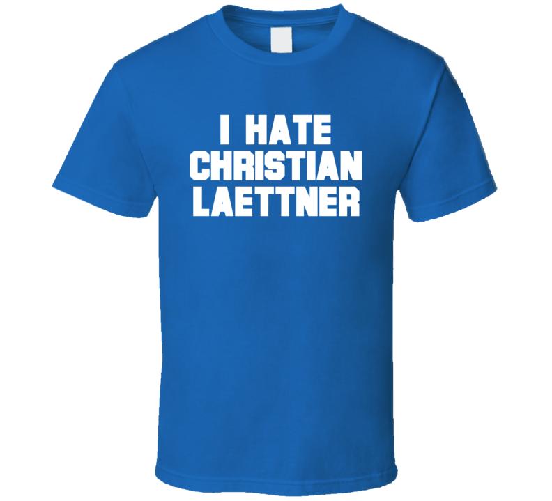 I Hate Christian Laettner Duke Basketball T Shirt
