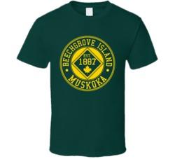 Forrestgreen  Beechgrove Island 125 Year Anniversary T Shirt
