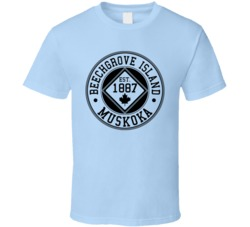 Beechgrove Island Muskoka T Shirt, Limited Edition