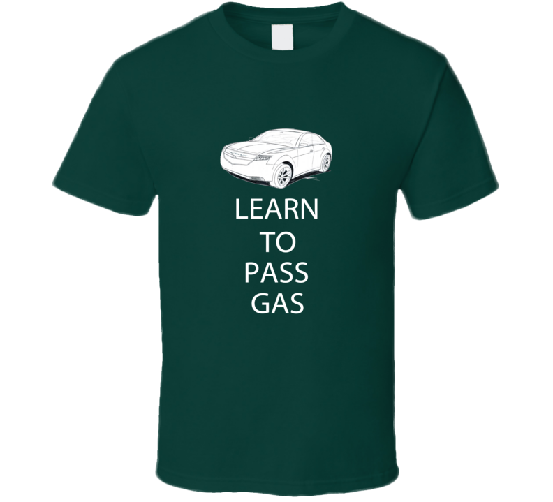 Chevy Volt Learn to pass gas funny T shirt