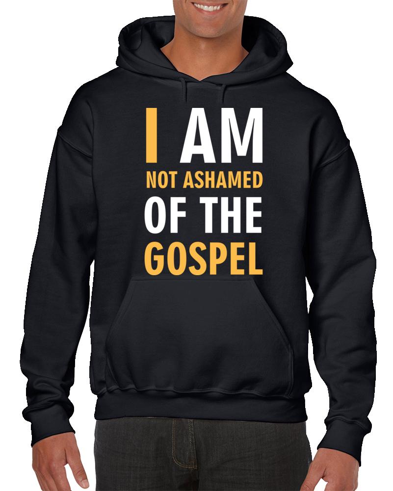 Not Ashamed Gospel Hoodie
