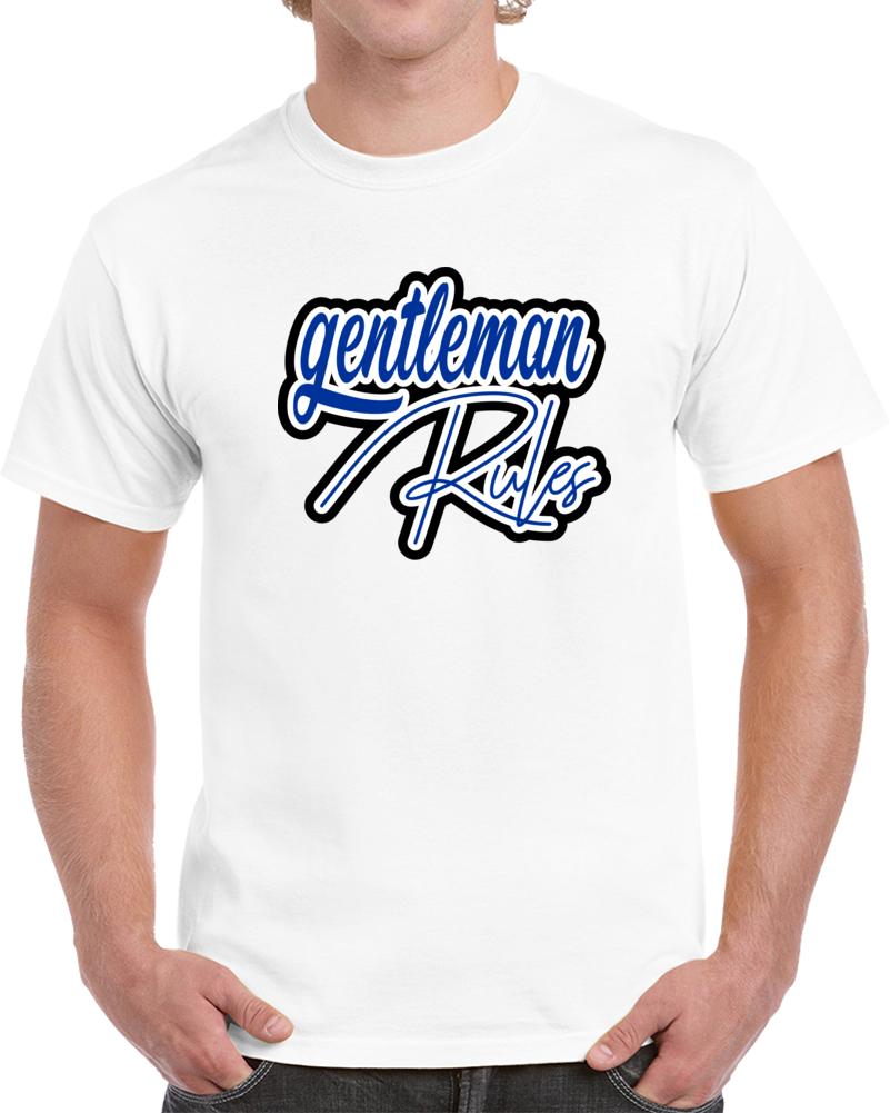 Gentleman Rules T Shirt