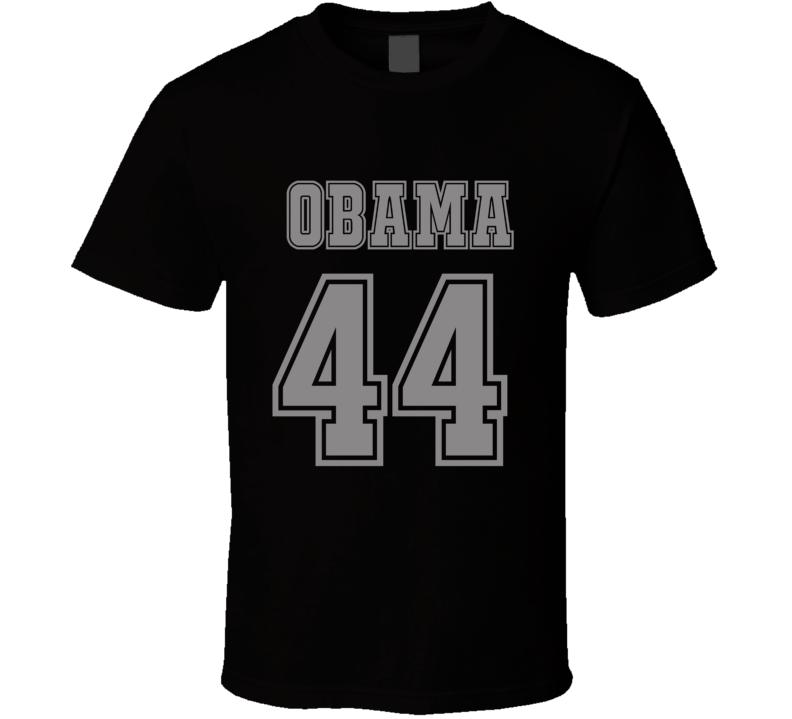 President Obama 44 gray  T Shirt