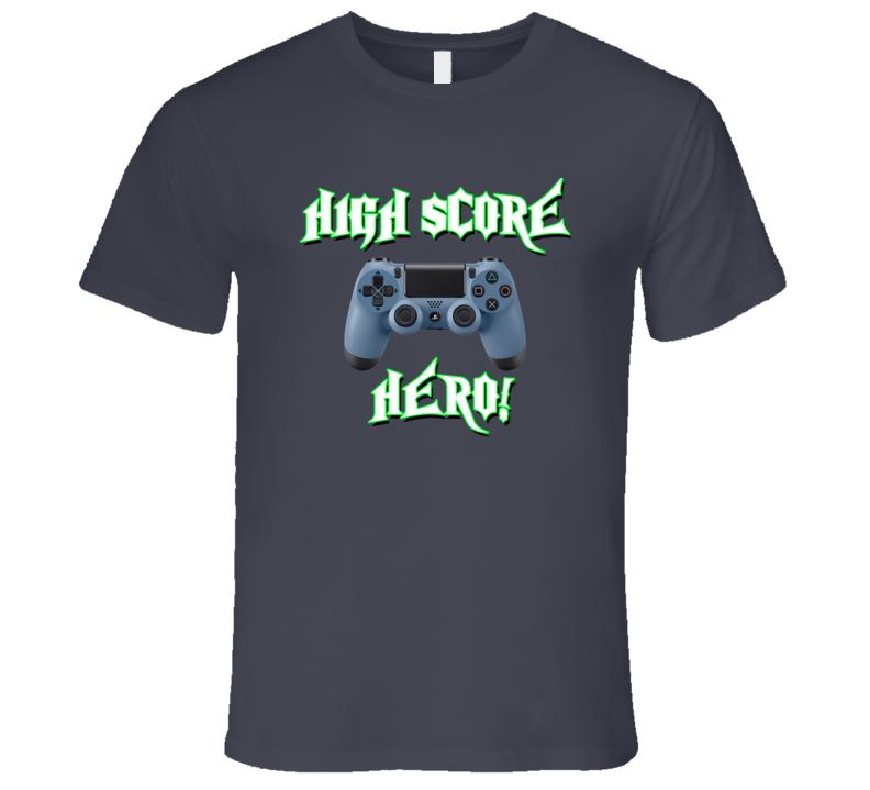 High Score Hero (P) T Shirt