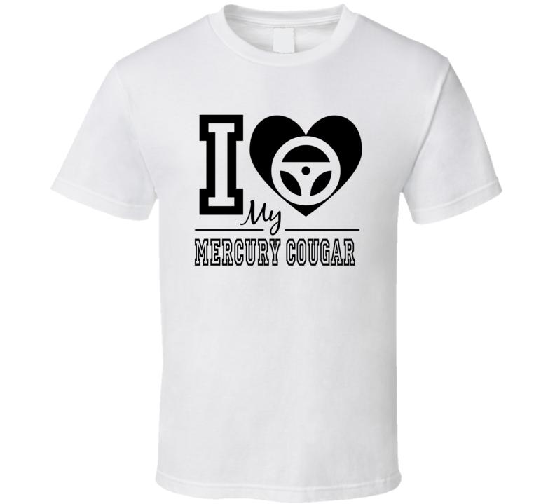 Mercury Cougar  T Shirt