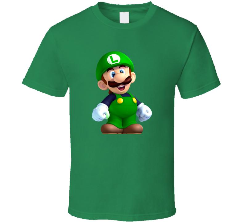 Old School Luigi T Shirt