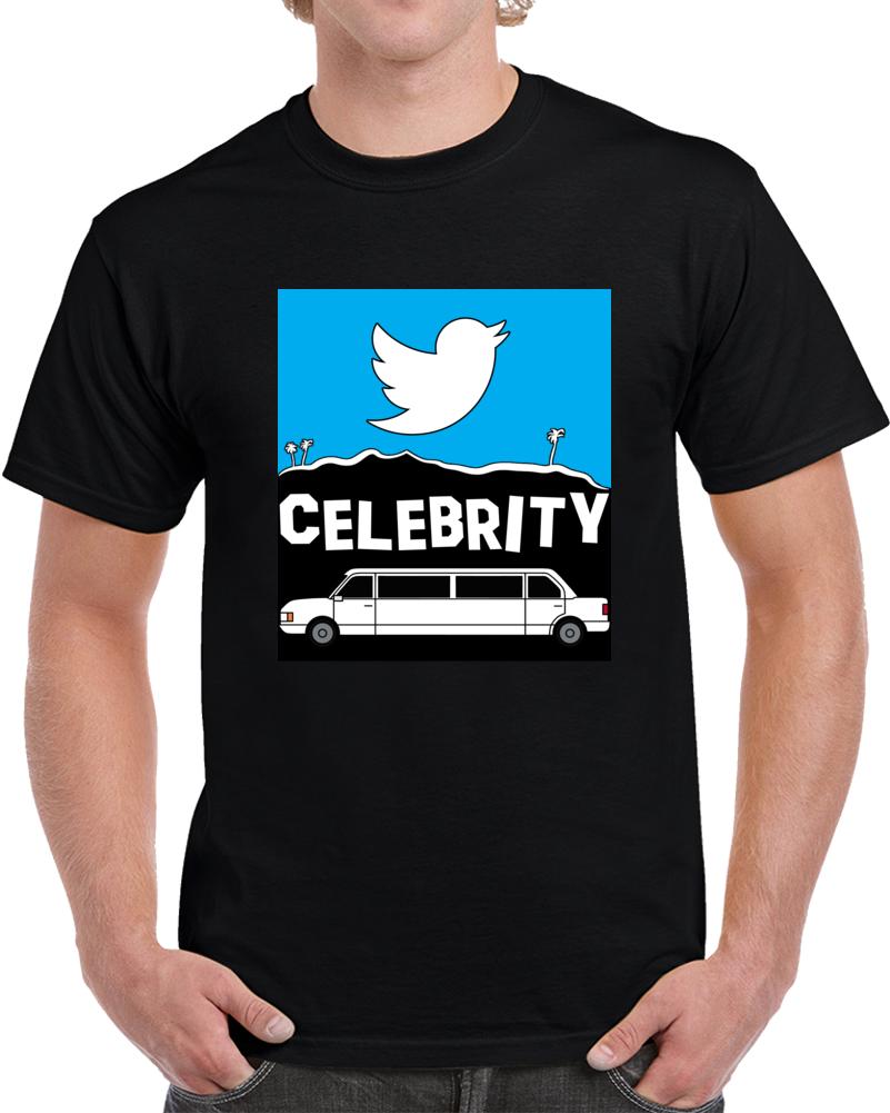 Twitter Celebrity T Shirt