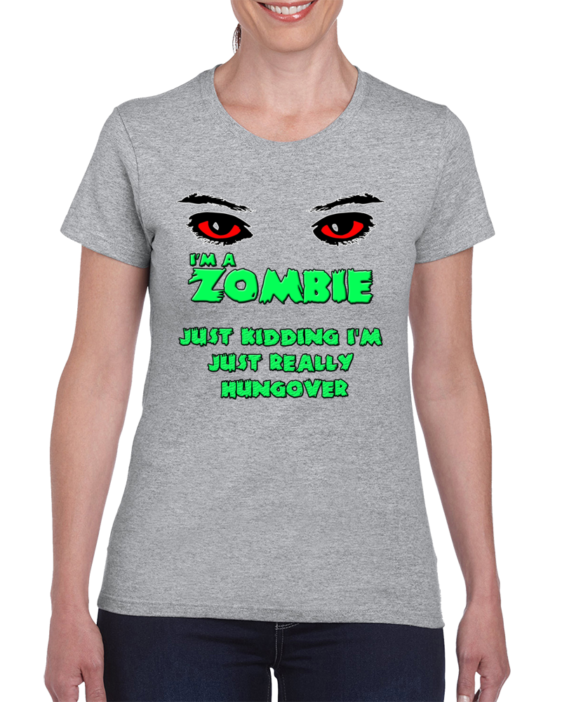 Zombie Hungover T Shirt