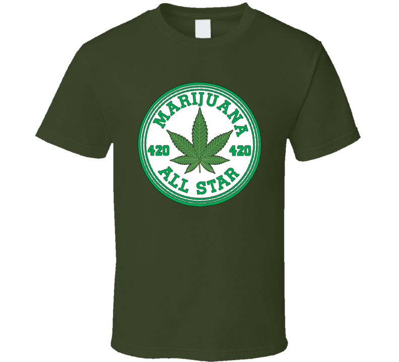 Marijuana All Star T Shirt