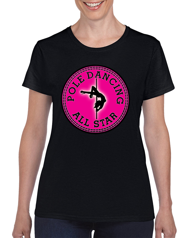 Pole Dancing Allstar  T Shirt