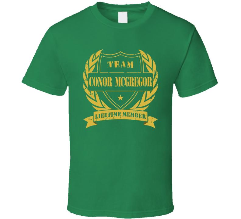 Conor Mcgregor Team  T Shirt