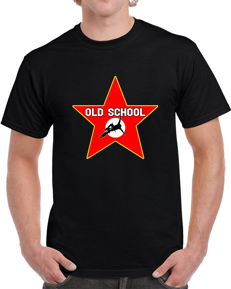 Old School Bmx Hollywood Star T Shirt