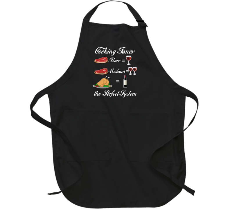 Wino Cooking Timer Apron