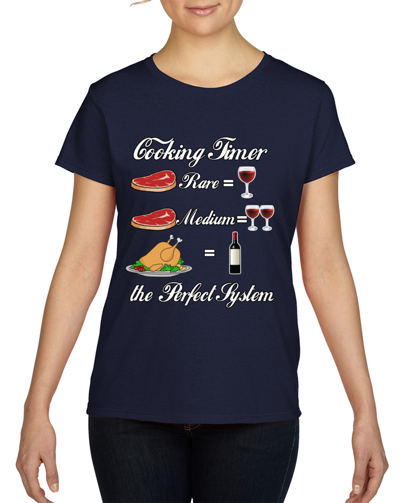 Wino Cooking Timer Shirt