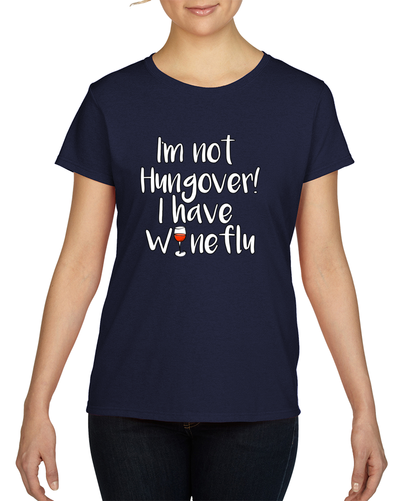 Wineflu Light Text T Shirt