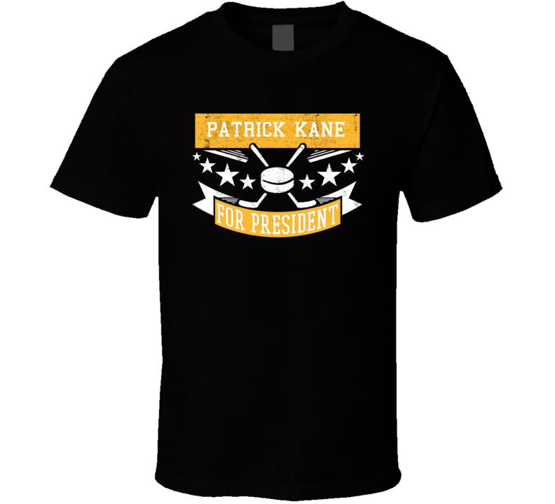 Patrick Kane For President T Shirt