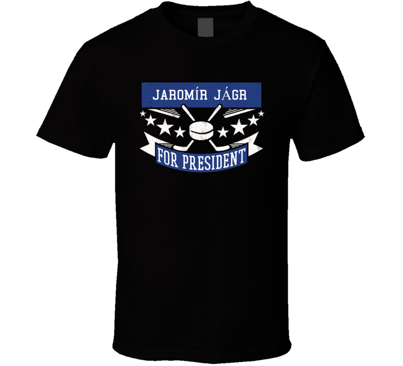 Jaromír Jágr For President T Shirt