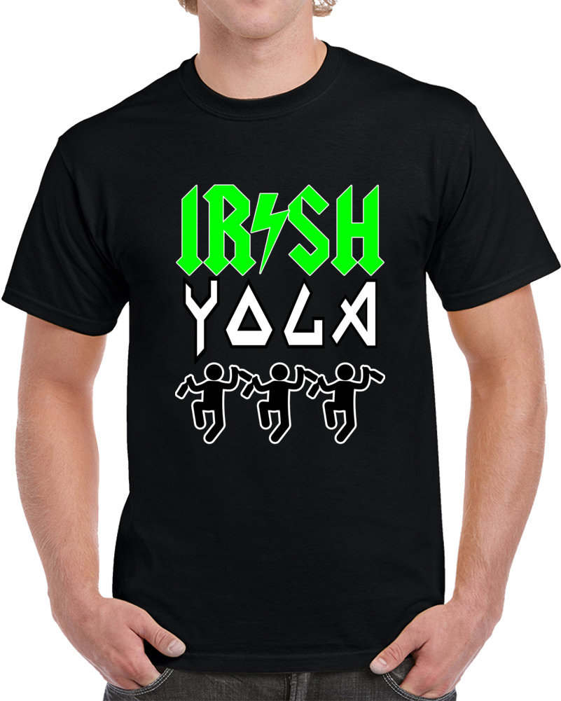 Irish Yoga  T Shirt
