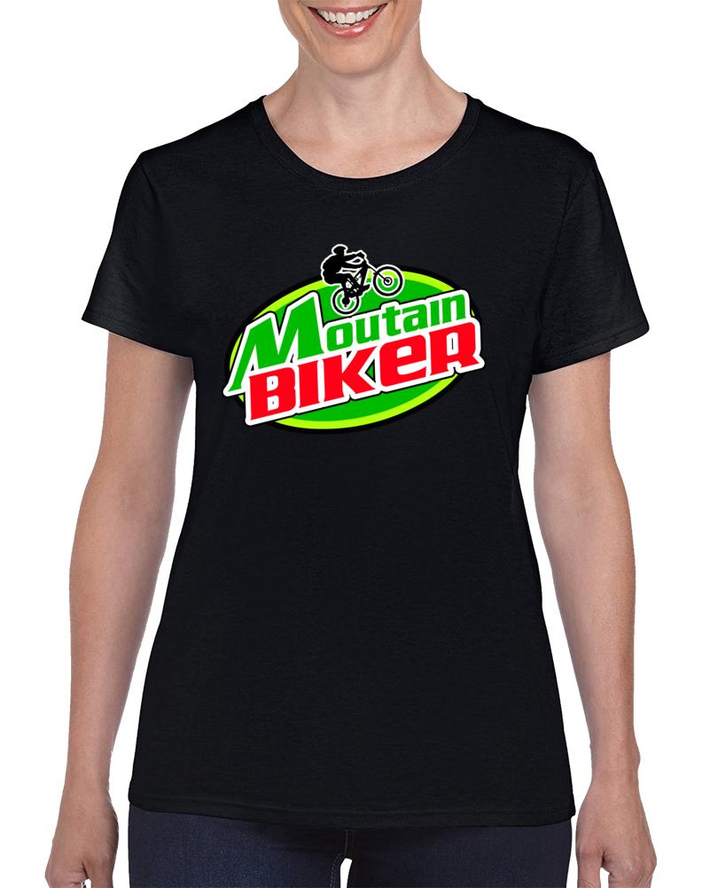 Moutain Biker Womens 1.0 T Shirt