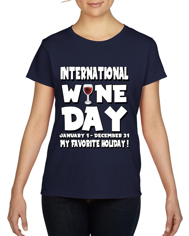International Wine Day 1.0  T Shirt