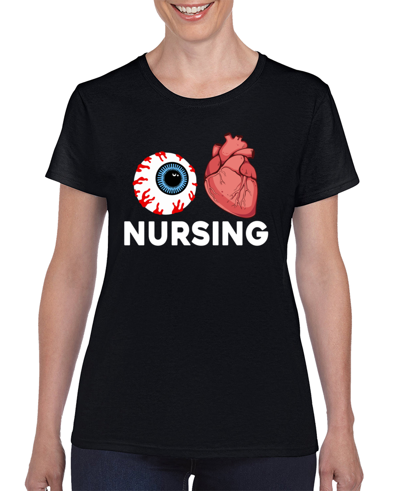 I Heart Nursing  T Shirt