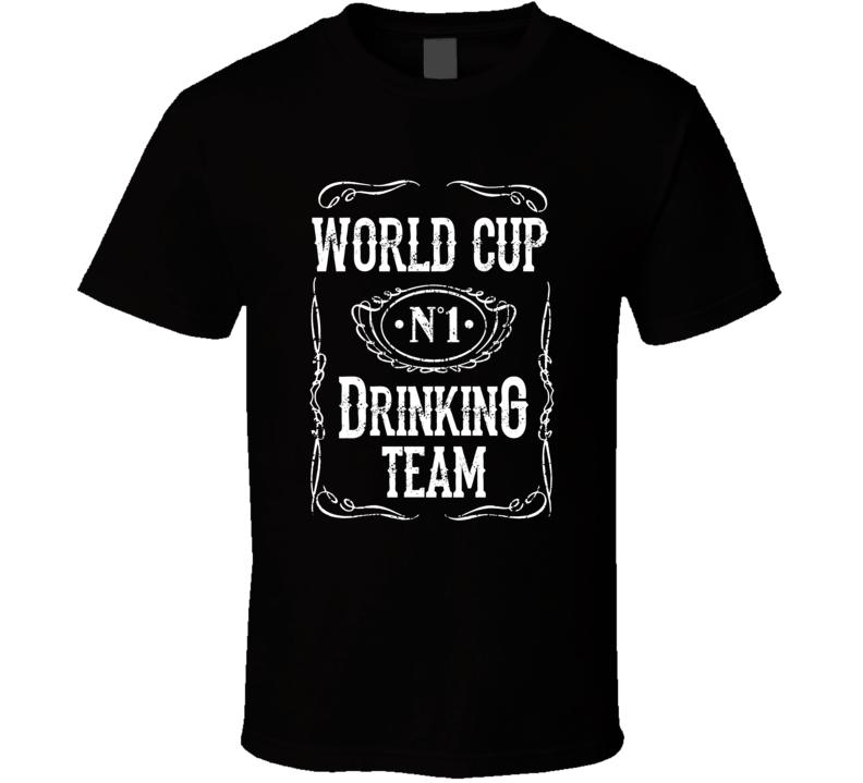 World Cup Drinking Team T Shirt