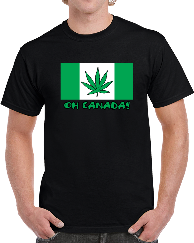 Oh Canada Pot Leaf T Shirt