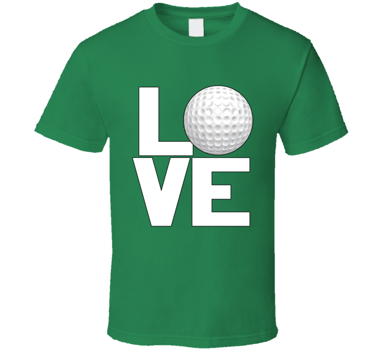Love Golf T Shirt
