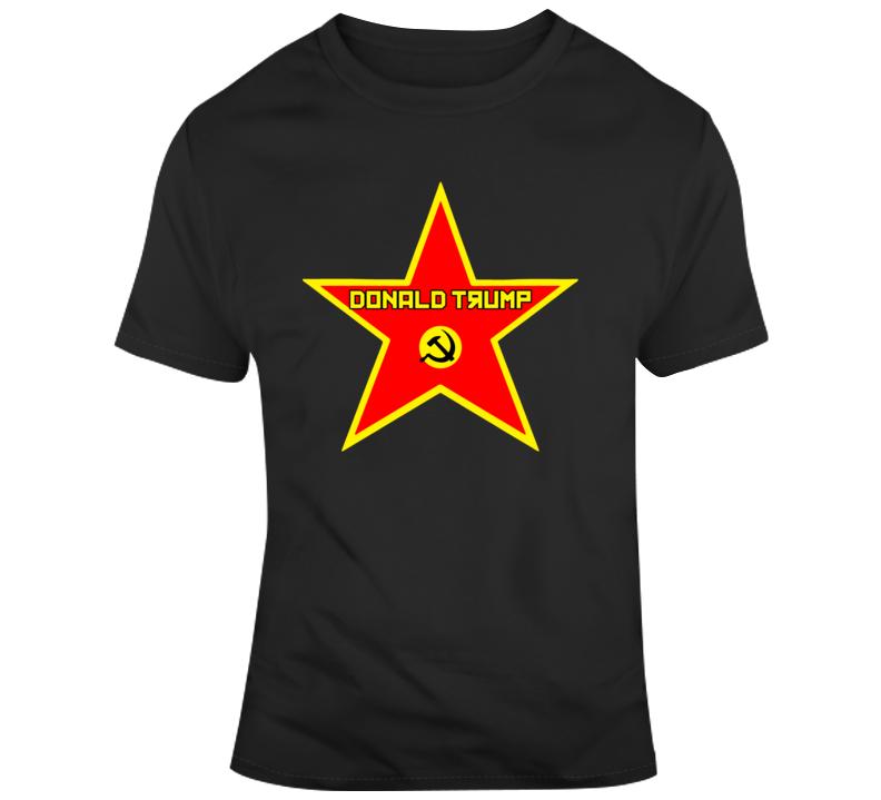 Trump Hollywood Star T Shirt