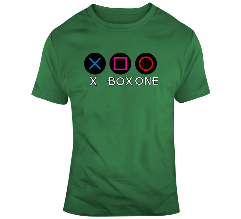 Xbox One Ps Buttons 1.0 T Shirt