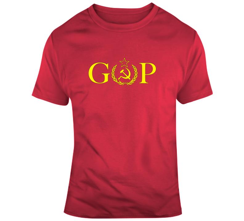 G.o.p Russia Logo T Shirt