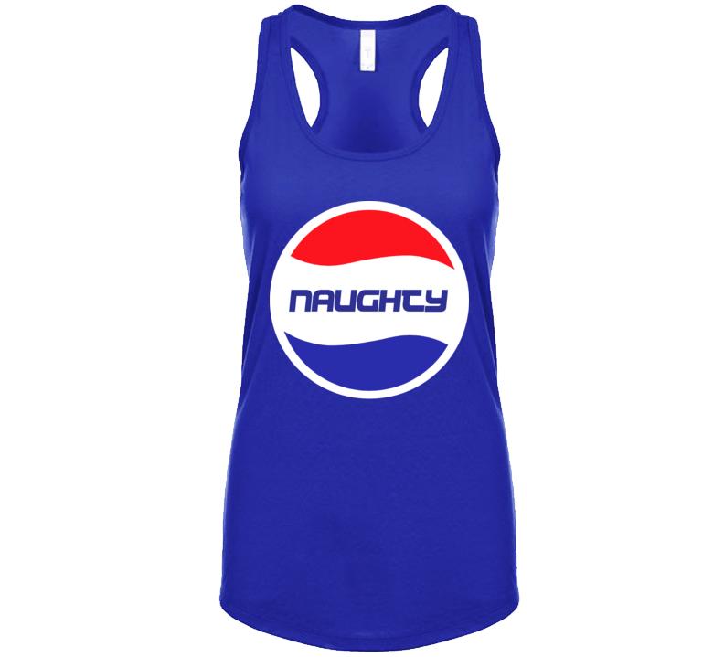 Naughty Women's Tank  T Shirt
