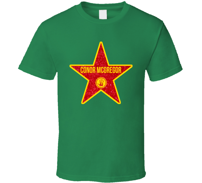 Conor Mcgregor Hollywood Star  T Shirt