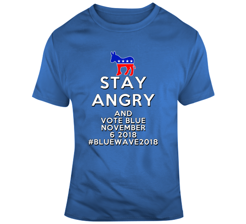 Blue Wave 2018 T Shirt