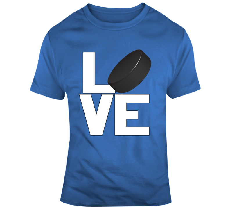 Love Hockey T Shirt