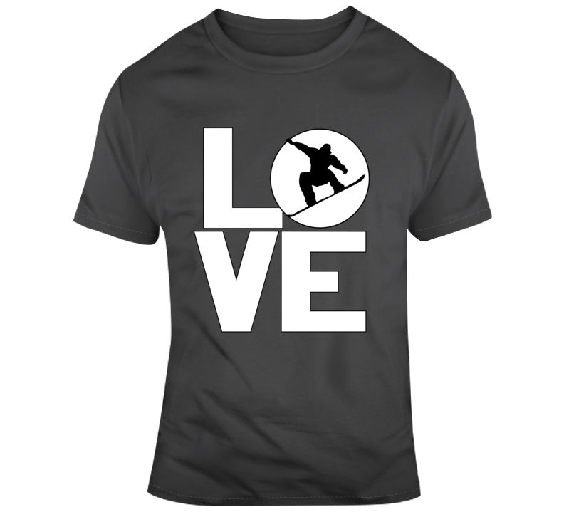 Love Snowboading T Shirt