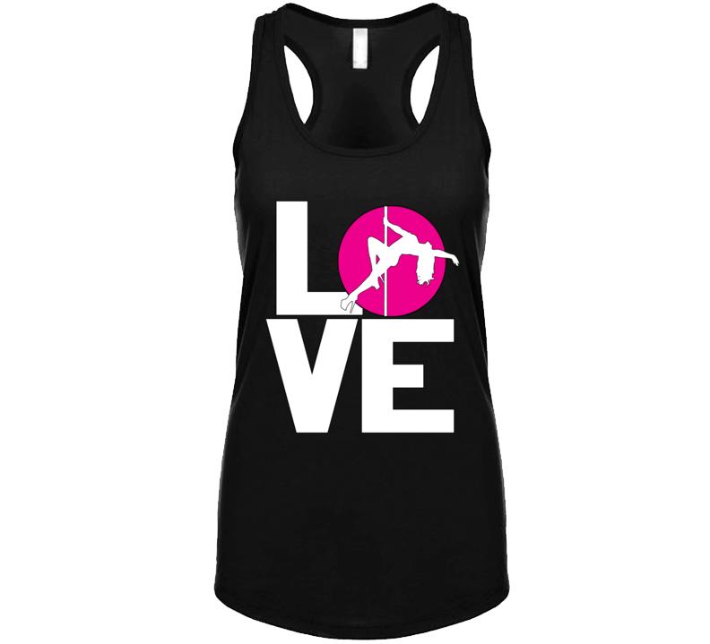 Love Poledanceing Tank Top