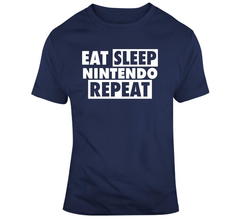 Eat Sleep Nintendo Repeat T Shirt