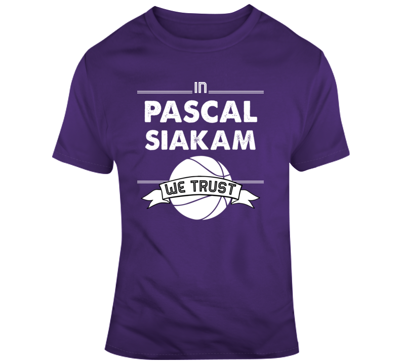 In Pascal Siakam We Trust  T Shirt