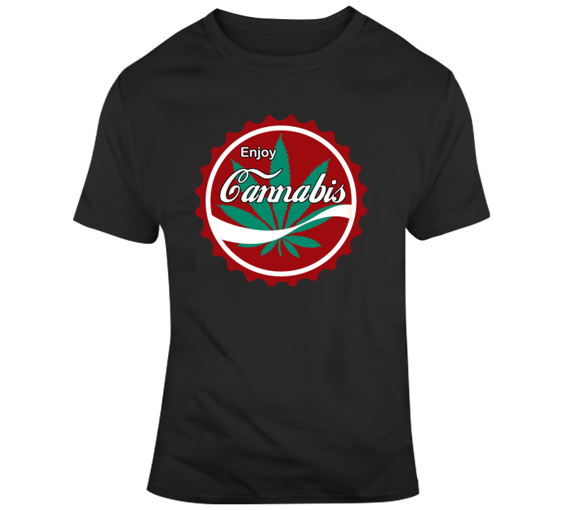 Enjoy Cannabis T Shirt