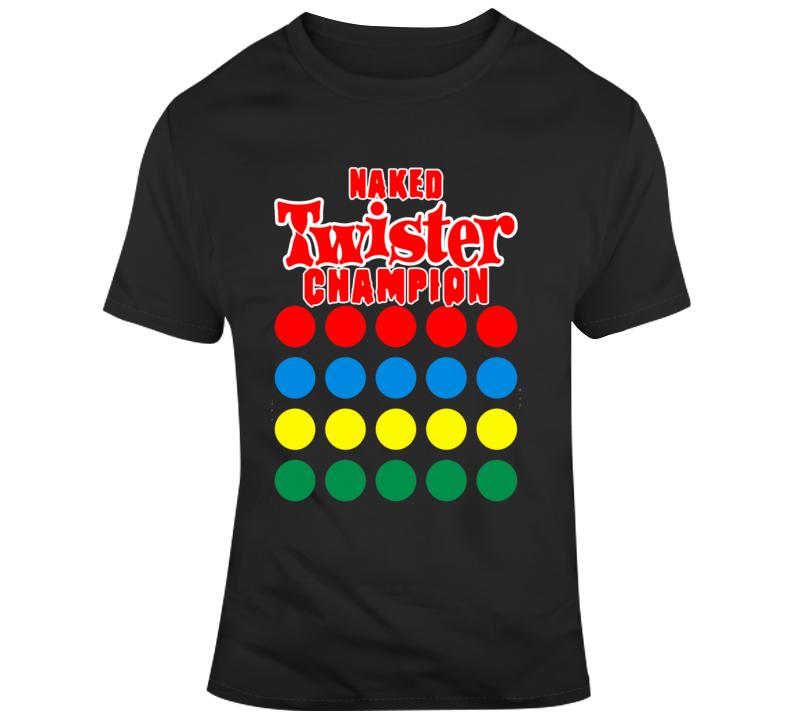 Naked Twister Champ Men T Shirt