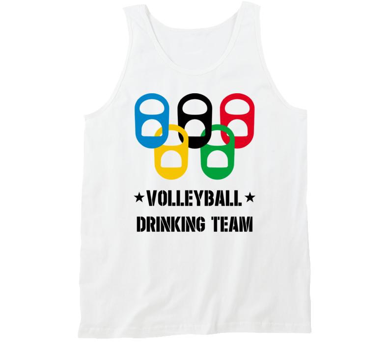 Volleyball Drinking Team Tanktop